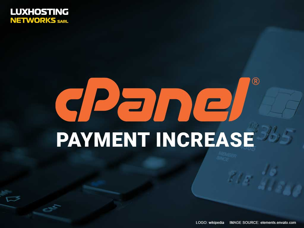cPanel Increases Pricing