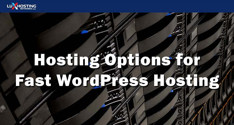 4 Hosting Options for Fast WordPress Hosting