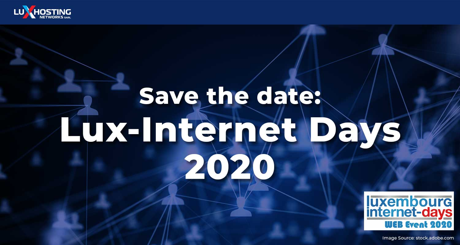 Save the Date: Lux-Internet Days 2020