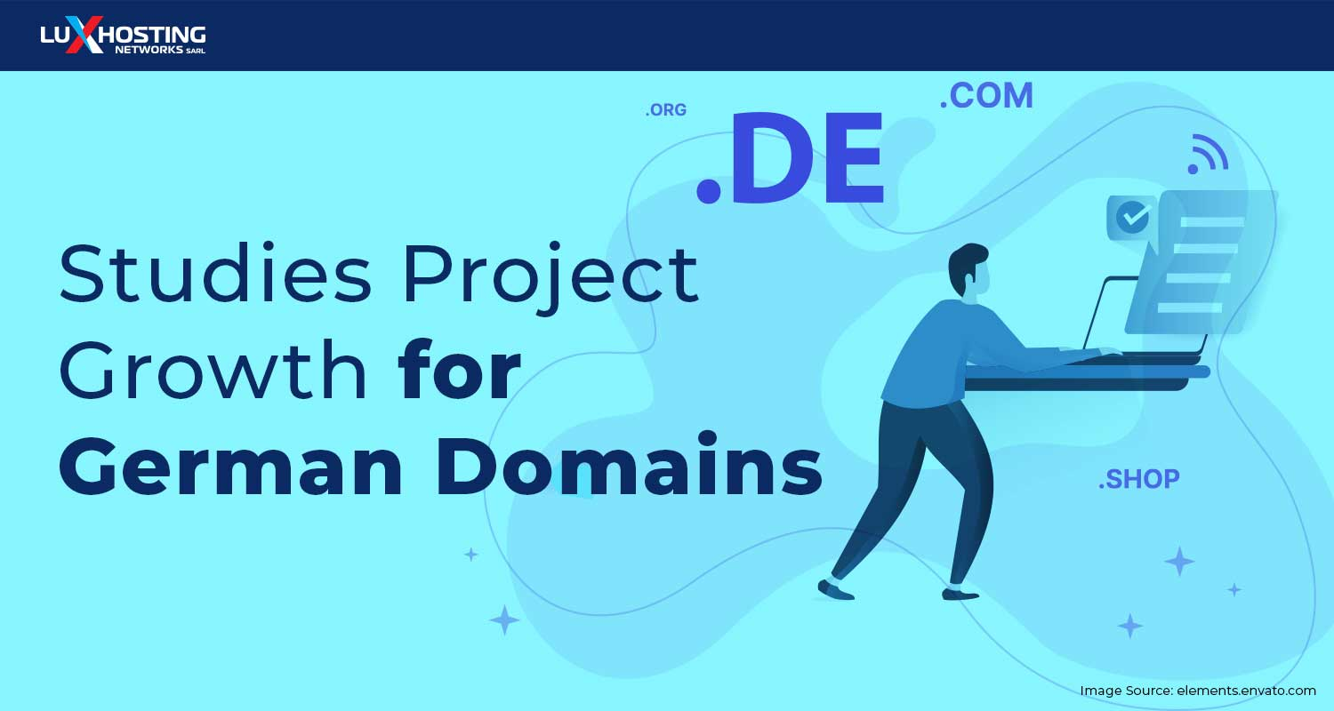 Studies Project Growth for German Domains & Internet Industry